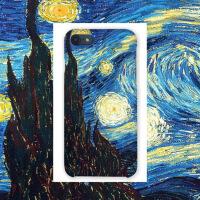 苹果6手机壳iPhone7plus硬壳油画梵高oppor11磨砂r9s情侣vivox9x7 i6/6s 7/7p 星空