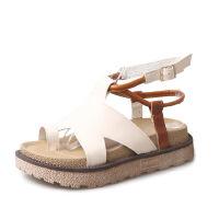 WARORWAR新品YM11-A626夏季欧美平底鞋舒适女士凉鞋