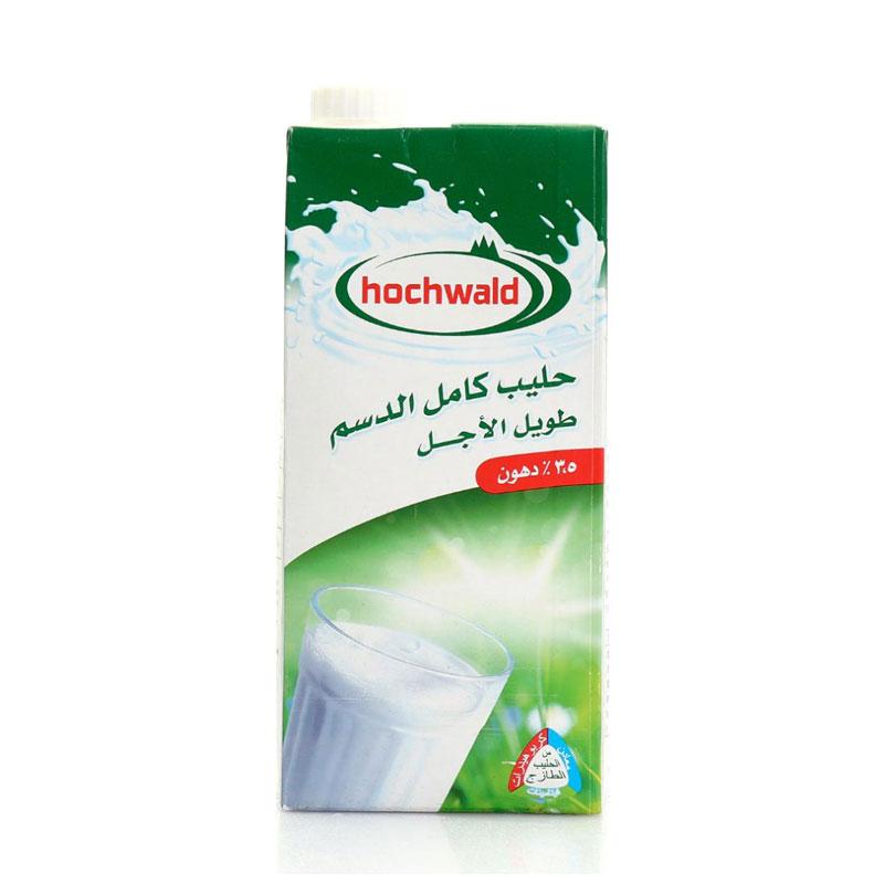 Hochwald好沃得全脂牛奶1L(德国进口 盒)