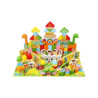 儿童益智积木3-6周岁男孩1-2岁婴儿女孩宝宝拼装7-8-10岁木制玩具