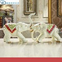 家装饰品摆件摆设装饰品工艺品酒柜卧室家居大象创意室内摆件客厅家庭房间礼品