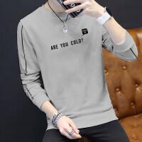男士长袖T恤2018新款秋季韩版薄潮流男学生卫衣修身体恤秋衣男装qg