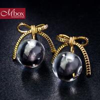 圣诞节礼物Mbox耳钉 气质女韩国版采用波西米亚风元素时尚耳钉耳环 半夏琉璃