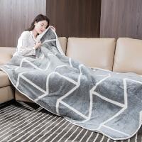 多功能七档调温电热毯暖身毯 法兰绒护膝毯电热垫暖脚垫