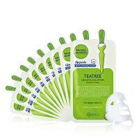 可莱丝(Clinie)绿茶祛痘 舒缓祛痘针剂面膜10片装