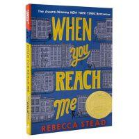 现货英文原版 当你到达我 WHEN YOU REACH ME 2010年纽伯瑞金奖 科幻悬疑小说 美国畅销儿童文学作家R