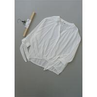 [N0B-218]新款女士打底衫女装雪纺衫18