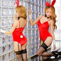 性感兔女郎制服诱惑兔子装DS夜店红色兔舞台演出服派对服圣诞表演