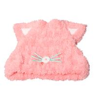 可爱卡通猫耳朵干发帽吸水干发巾 加厚浴帽擦头发包头巾
