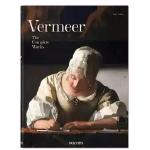 维米尔画册作品集 维米尔完整艺术绘画作品 Vermeer: The Complete Works 油画 艺术绘画作品
