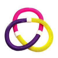 【12.12 三折����r28元】呼啦圈 �和�成人��簧呼啦圈瘦腰塑身塑料�呼拉圈家用健身器材