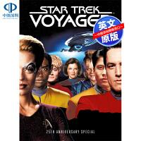 现货英文原版 星际迷航:旅行者25周年特辑艺术书 精装收藏版 Star Trek: Voyager 25th Anniv