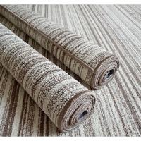 日式素色北欧客厅茶几沙发大地毯地垫简约现代中式卧室床边毯 渐变条纹 200x300CM 现货