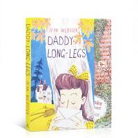 【全店300减100】长腿叔叔 英文原版 Daddy-Long-Legs 英文版书信体小说 儿童文学经典读物 中小学生英