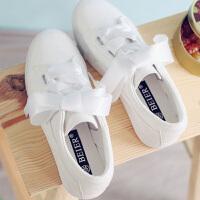【支持礼品卡支付】夏季新款韩版低帮帆布鞋女士白色休闲平跟板鞋学生小白鞋 BE-6892