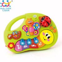 汇乐宝宝手指启蒙学习小孩0-3岁早教益智音乐玩具钢琴儿童电子琴
