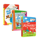 英文原版 The Berenstain Bears 贝贝熊 Bright and Early Board Books
