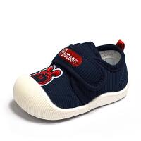 新款婴儿学步鞋子0-1岁男女宝宝单鞋6-12个月透气软底机能鞋春秋