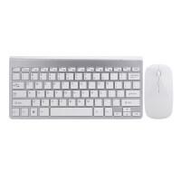 键盘鼠标套装 2018新款无线键盘鼠标套装小型 薄笔记本外接家用电脑 迷你无线键鼠