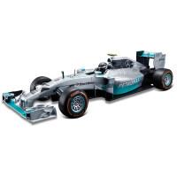 2017法拉利1:14SF16-H F1方程式遥控赛车仿真高速跑车汽车 奔驰F1 44号汉密尔顿战车115 官方标配1
