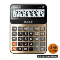 卡西欧(Casio)语音计算器 真人发音报数财务办公计算机DY-120