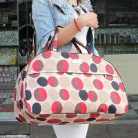 3件7折大容量手提包防水单肩包旅行包袋男女商务出差包行李包袋