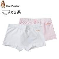 暇步士童装女童内裤时尚女童平角内裤儿童内裤(一包两条)