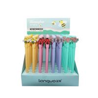 蓝果LG-40822小蜜蜂创意中性笔 颜色图案随机 单支销售 当当自营