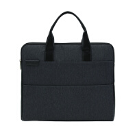 公文包男商务手提包帆布公事包资料文件包工作会议袋女可定制LOGO