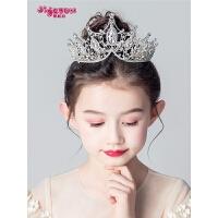 女孩韩式走秀发饰儿童皇冠头饰公主女童王冠头饰