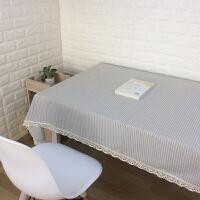 桌布布艺日式文艺棉麻餐桌布家用拍照茶几布长方形电视柜盖布订做