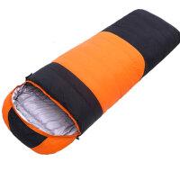 便携式野营睡袋-30°羽绒睡袋户外单人冬季厚款鸭绒保暖室内