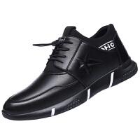男鞋冬季新款潮流休闲皮鞋男士运动跑步鞋秋季潮鞋韩版百搭鞋子男