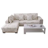 四季全棉沙发垫布艺简约现代实木纯棉夏季皮沙发坐垫冬沙发套巾m2i