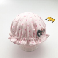 婴儿帽子0-3个月秋冬新生儿帽子初生胎帽男女宝宝盆帽6渔夫帽 均码