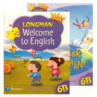香港朗文小学英语教材 英文原版 Longman Welcome to English Gold 6B 六年级下学期学生