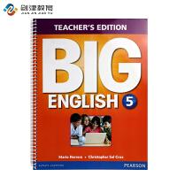Big English 朗文培生原装进口幼儿英语教材Teacher's Edtion 5级别教师用书