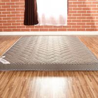 加厚竹炭地铺榻榻米床垫1.5m1.8折叠学生1.0保暖
