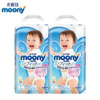 moony 裤型纸尿裤L44男宝 *2包