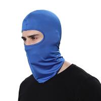 头套男骑行面罩防晒脸头罩卡丁摩托车挡风防寒套头帽防尘头盔内衬