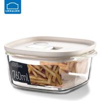 �房�房勰�岵AПur盒�L方形�盒冰箱水果���w收�{盒保�r��饪� 白色【760ml】 LLG945WHT
