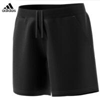 阿迪达斯Adidas 运动裤女子 梭织短裤 羽毛球服
