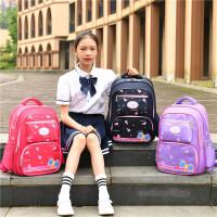 小学生书包女童女生超轻减负护脊儿童双肩包女1-2-3-6一年级女孩