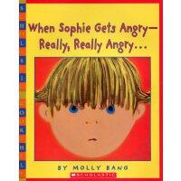 #原版英文童书 When Sophie Gets Angry 苏菲生气了[3-8岁]