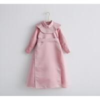 汉服女童中国风棉衣冬款童装宝宝刺绣套装花童复古儿童唐装女