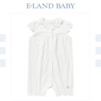 【1件3折价:77.4元】Eland baby衣恋童装校园风女婴儿连体衣婴幼儿宝宝爬服新生儿