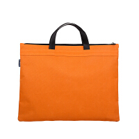 广博(GuangBo)帆布手提资料袋/文件袋/公文包/办公收纳用品 橙色A6095-3当当自营
