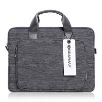 苹果戴尔笔记本电脑手提斜挎单肩包2macbookair13/15寸pro4