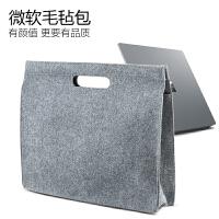 微软surface pro3/4/5保护套Lap平板电脑包13.5寸Book毛毡内胆 碳灰Surface Pro 3/