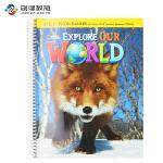 Explore Our World Level 3教师用书 原版正品美国国家地理小学英语教材 含光盘